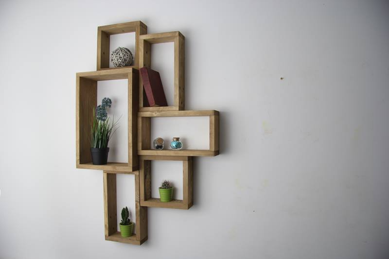 Wall Hanging Bookshelves creative pallet wall shelves unit | 99 pallets