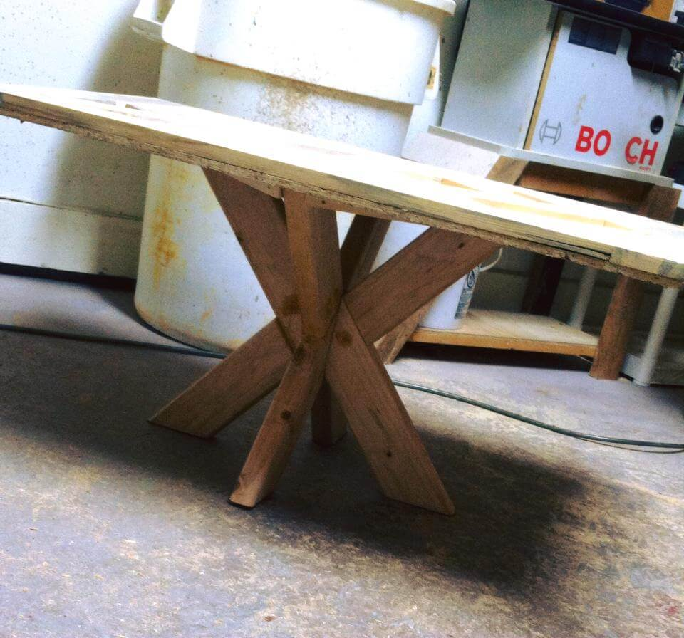 Wood Pallet Table Top Pattern Top Pallet Coffee Table 99 Pallets