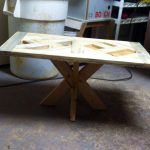 Pattern Top Pallet Coffee Table