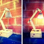 Pallets Wood Lamp – Make Your Own Pallet Lamp
