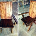 Wooden Pallet Chair Designs