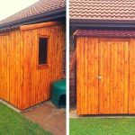 Wooden Pallet Tool Shed