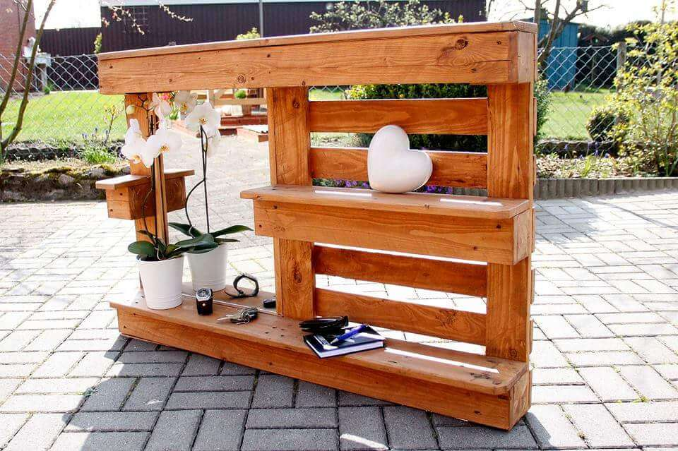 Original Diy Pallet Bath Room Shelves Photograph Bathroom Shaving Shelf From