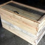 DIY Wooden Pallet Chest for Bedroom