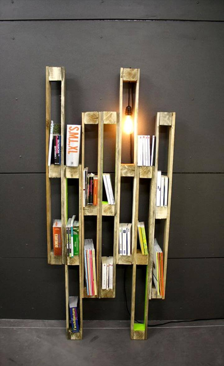 pallet creative shelf