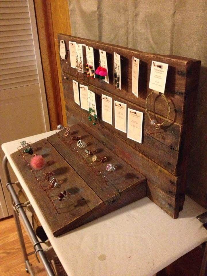 Pallet Jewelry Organizer Holder 99 Pallets