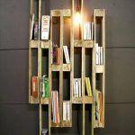 Creative Pallet Bookshelf