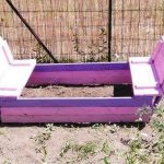 Recycled Pallet Sandbox for Kids