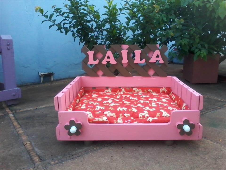 diy wooden pallet dog beds 99 pallets With dog beds for female dogs