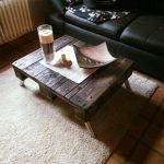 Retro Style Pallet Coffee Table