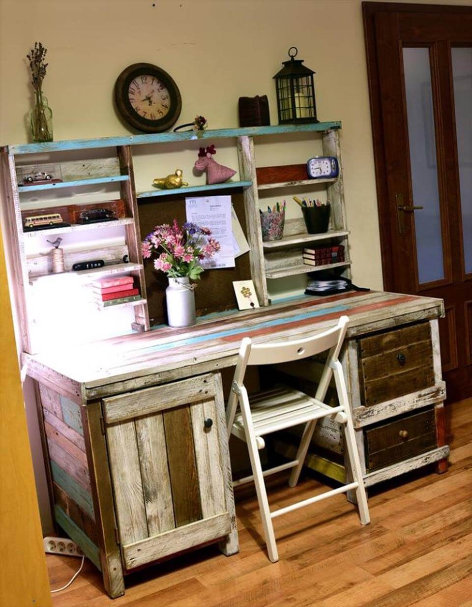 pallet study desk or table
