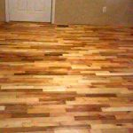 DIY Pallet Wood Flooring