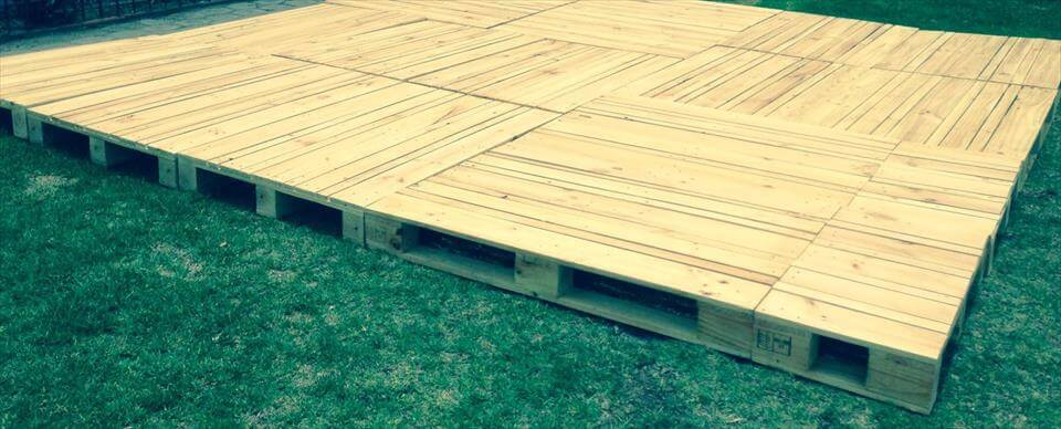 Build Pallets Deck and Furniture | 99 Pallets