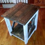 Upcycled Wooden Pallet Side Table