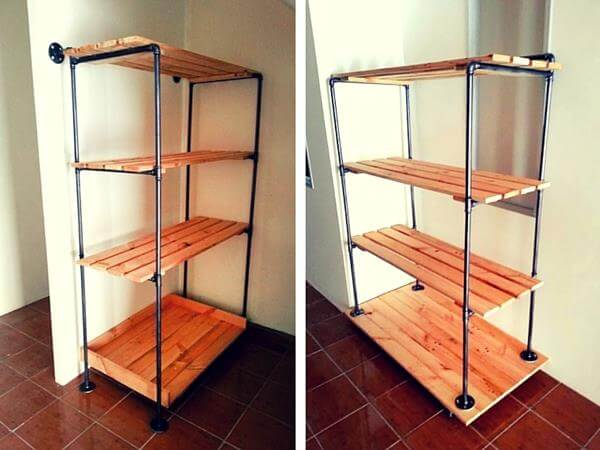 Wooden Pallet Storage