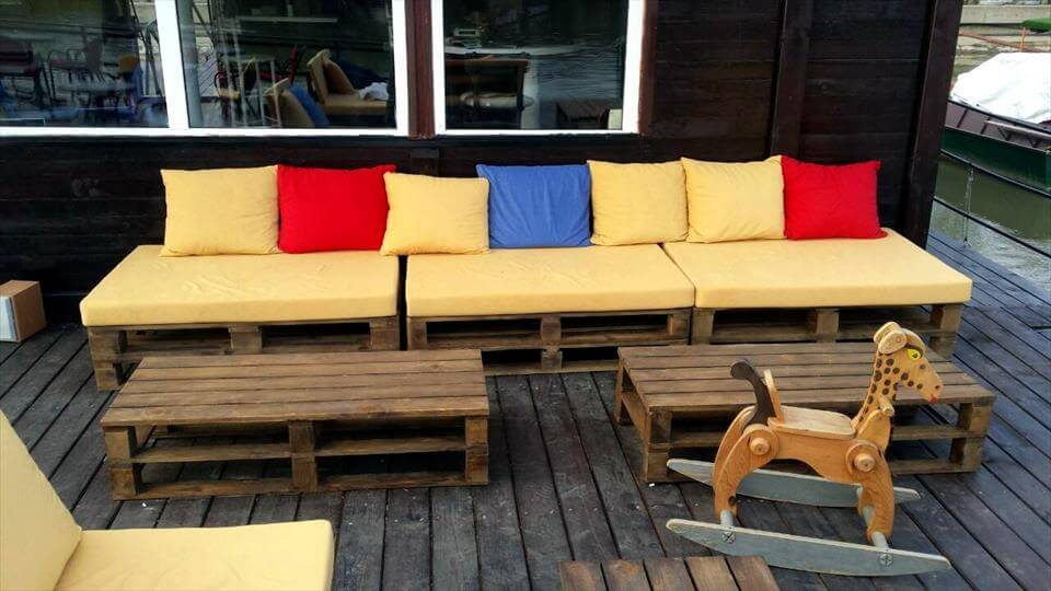 Garden Furniture From Wooden Pallets wooden pallets ship deck / garden furniture | 99 pallets
