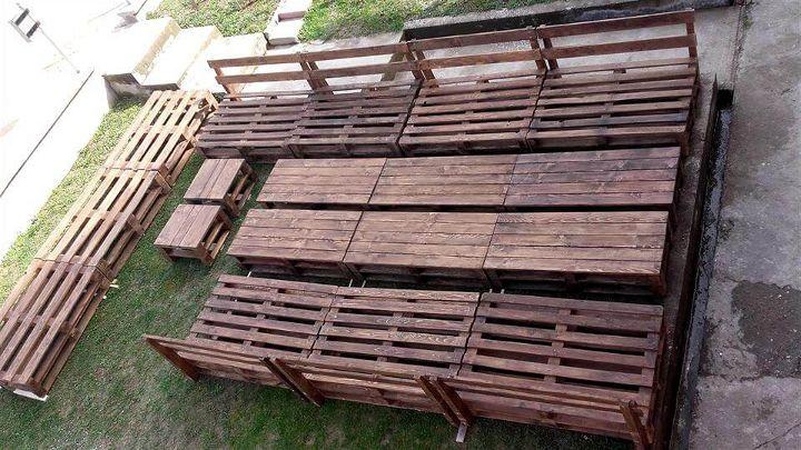 Wooden Pallets Ship Deck Garden Furniture Pallets