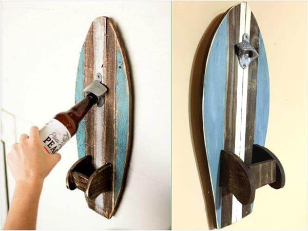 Pallet Wood Bottle Opener