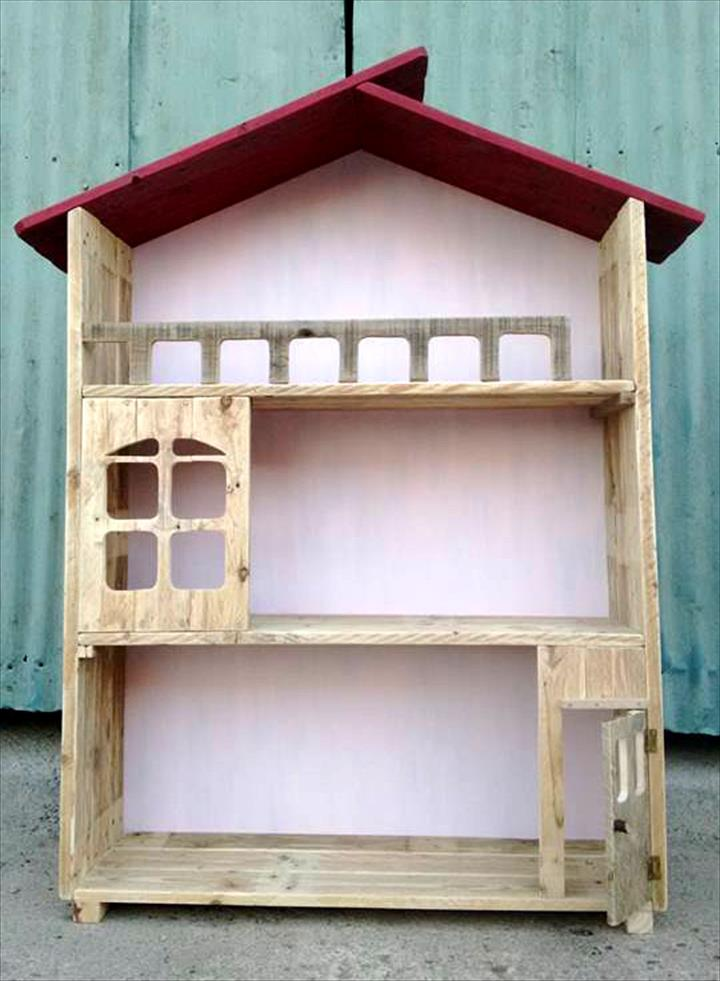 Upcycled Pallet Doll House Design 99 Pallets