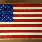 Rustic Pallet Flag Ideas