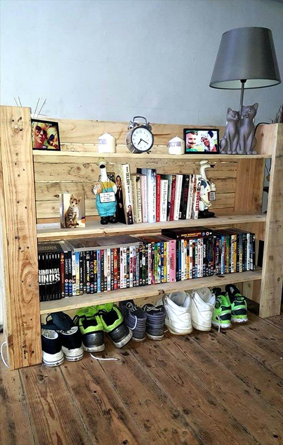 pallet multi-functional shelf unit