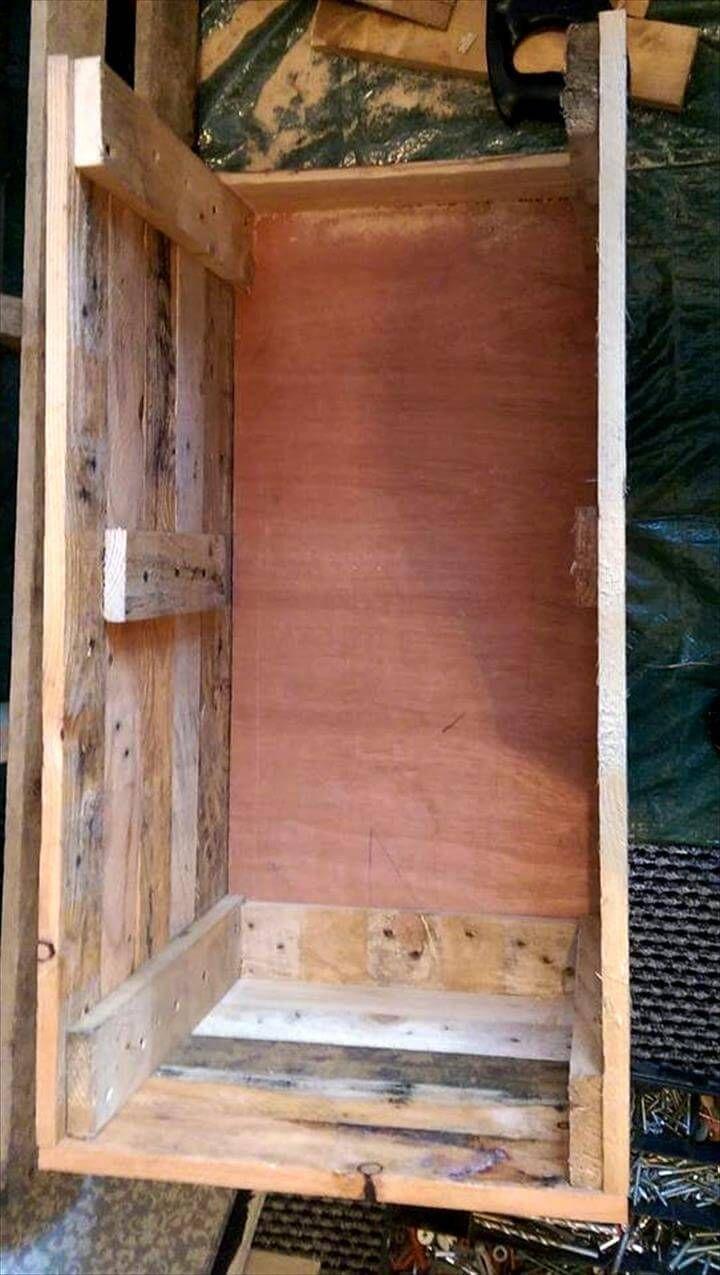 Diy Wood Pallet Toy Storage Box