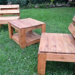Upcycled Pallet Garden Seating Furniture
