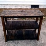 Easy to Build Pallet Media Table