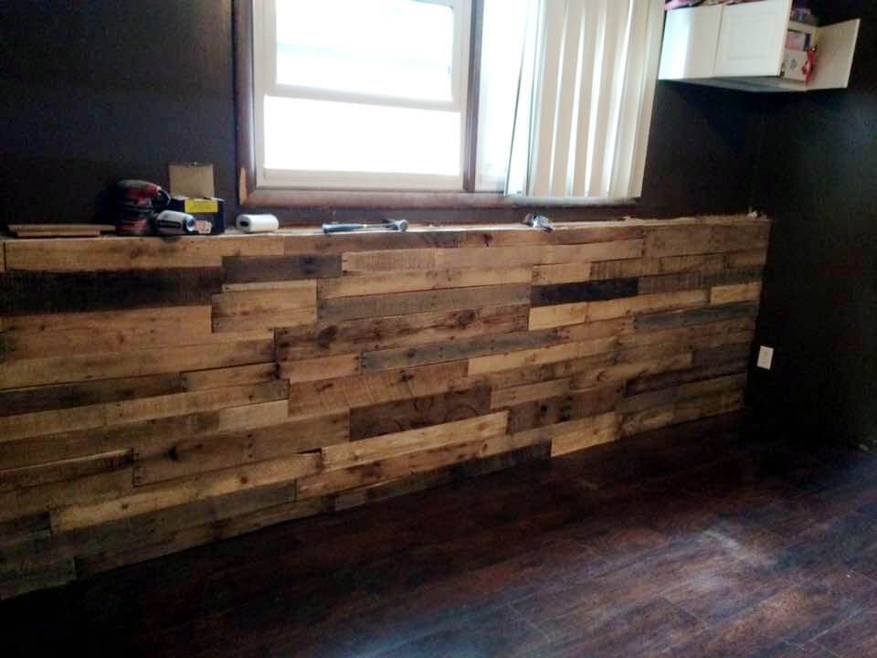 no-cost pallet Xl indoor bar