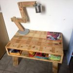 Mini Pallet Coffee Table or Kids Study Desk