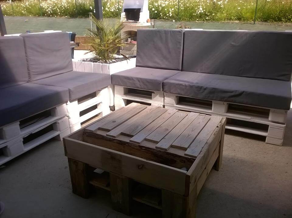 pallet outdoor sofa set 99 pallets