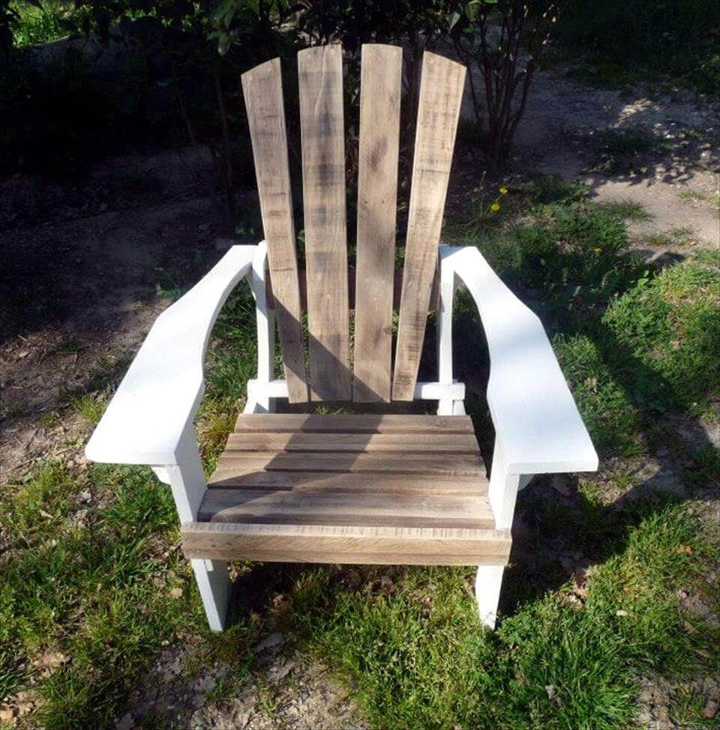 DIY Pallet Adirondack Chairs Set | 99 Pallets