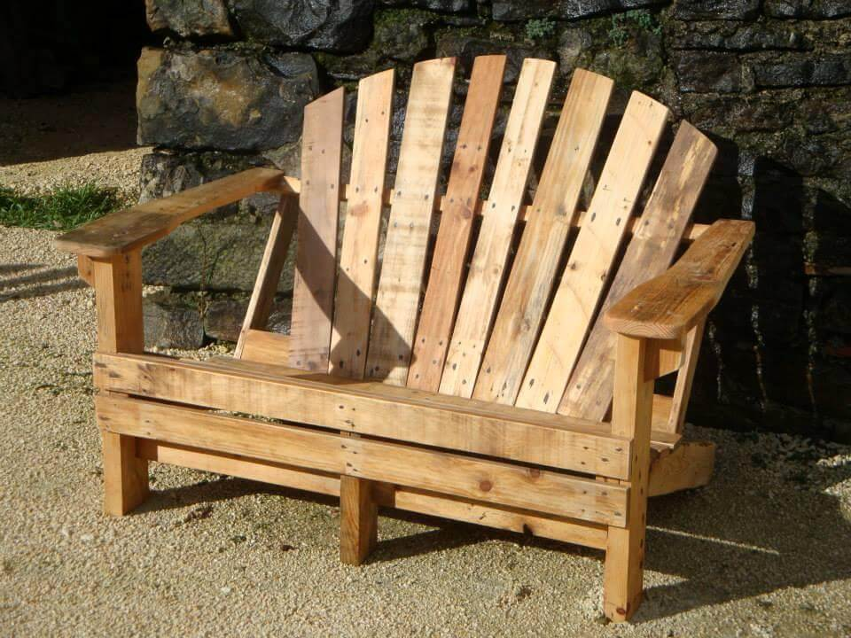 Diy Pallet Adirondack Chairs Set 99 Pallets