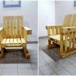DIY Pallet Armchair Design