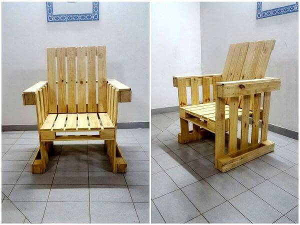 Pallet furniture ideas diy pallet projects 99 pallets for Pallet armchair