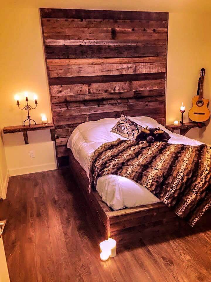 DIY Upcycled Pallet Bedroom Ideas | 99 Pallets on Bedroom Pallet Ideas  id=97768