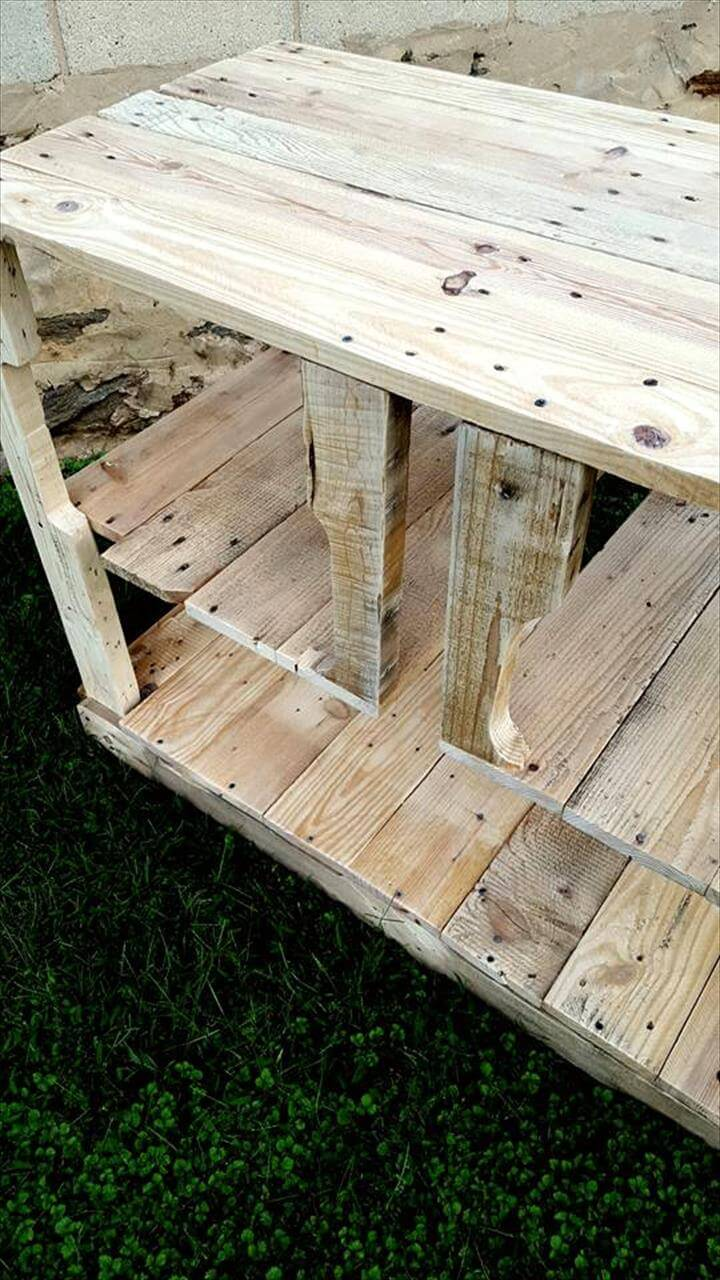 Pallet Media Console Or Kitchen