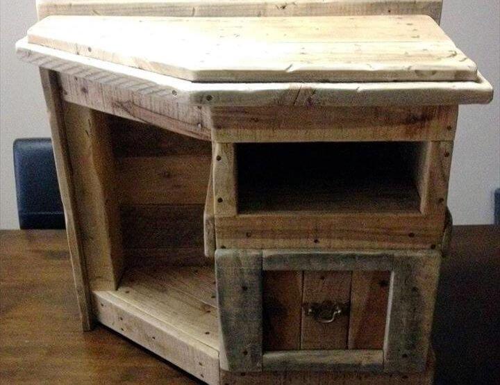 no-cost pallet mini table