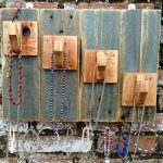 Pallet Jewelry Organizer / Display / Holder