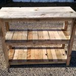 Pallet Media Console / Kitchen Island
