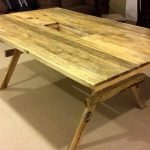 DIY XL size Pallet Dining Table
