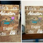 DIY Pallet Wall Art Sign for Life
