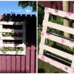 Pallet Garden Fence Wall Planter