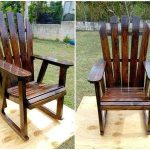 Pallets Rocking Chair