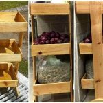 Pallet Vegetable Organizer