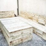Pallet Patio Sofa Set