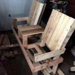 Pallet Double Chair for Lounge