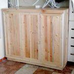 DIY Pallet Storage Cabinet