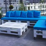 Pallets Wood Terrace Furniture Set