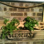 Pallet Wall Hanging Herb Planter
